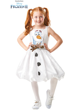 Disfraz Olaf Frozen 2 Niña Infantil