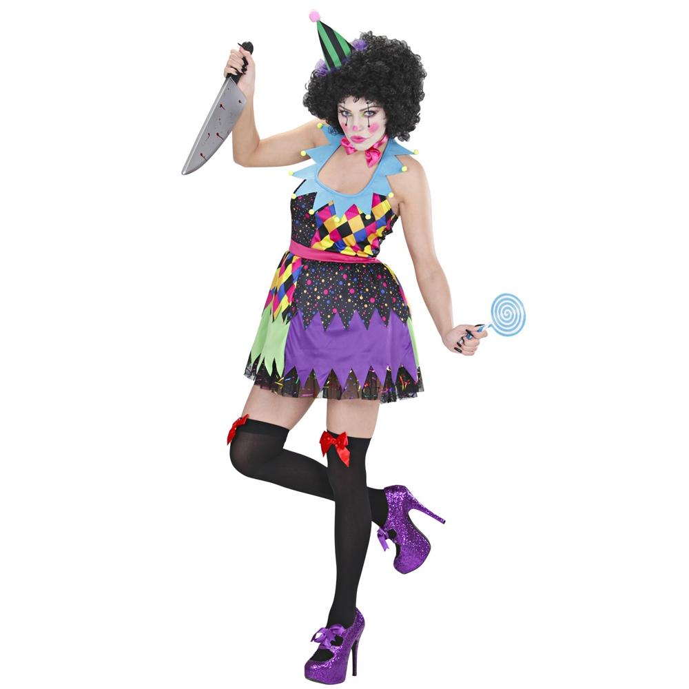 Disfraz de Payaso Horror Mujer