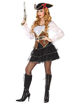 Disfraz Pirata Mujer Adulto