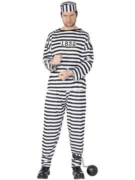 Disfraz Preso Adulto