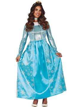 Disfraz Princesa Escarchada Adulto