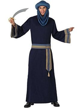 Disfraz Árabe Azul Adulto