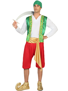 Disfraz Árabe Verde Adulto