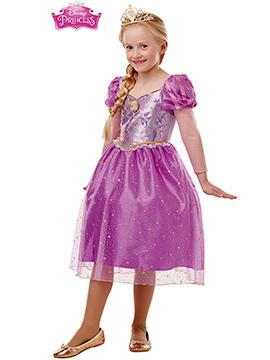 Disfraz Rapunzel Sparkle Deluxe Infantil