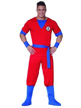 Disfraz Super Guerrero Adulto