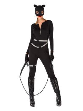 Disfraz Superheroína Cómic Gata Adulto
