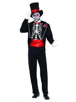 Disfraz Día de los Muertos Adulto