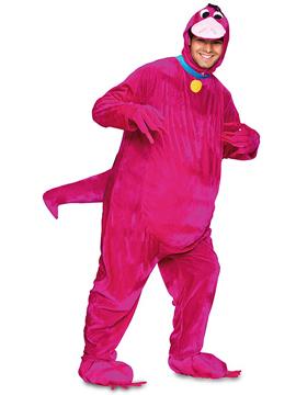 Disfraz Dinosaurio Fucsia Adulto