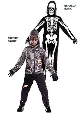 Disfraz Doble Fun Zombie Esqueleto Infantil