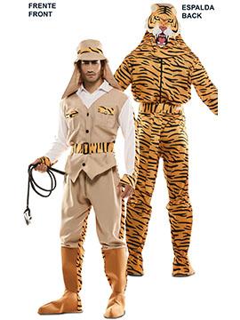 Disfraz Doble Fun Cazador Tigre Adulto