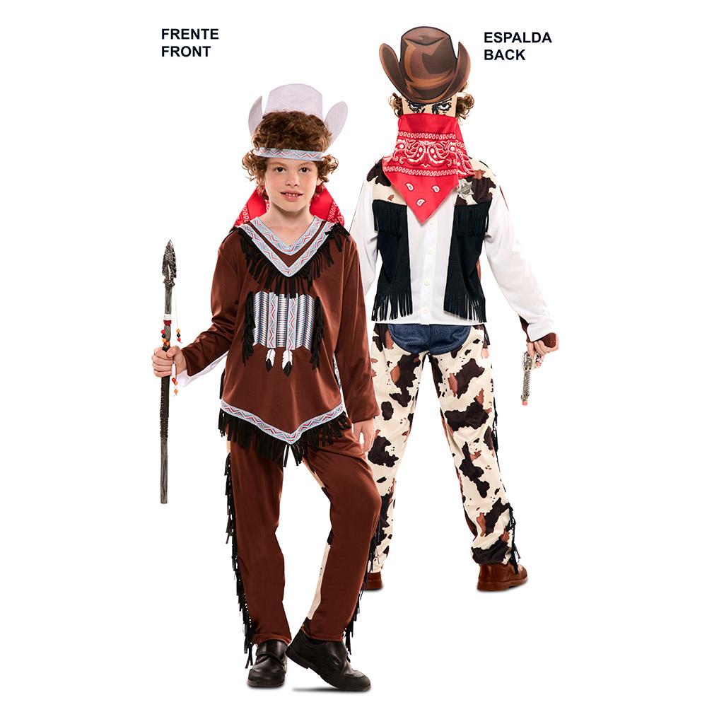 Disfraz Doble Fun Indio Vaquero Infantil