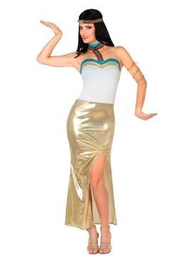 Disfraz Egipcia Dorado Adulto