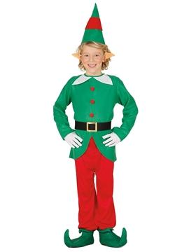 Disfraz Elfo con Gorro Infantil