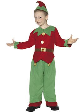 Disfraz Elfo Navidad Infantil