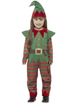 Disfraz Elfo de Navidad Infantil