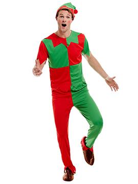Disfraz Elfo Navideño Adulto