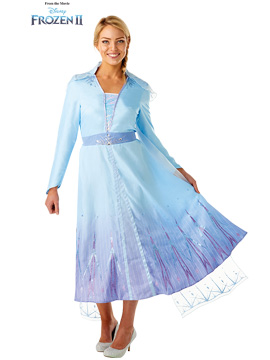 Disfraz Elsa Frozen 2 Travel Adulto