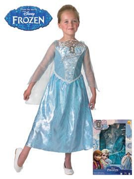 Disfraz Elsa Frozen Música y Luz