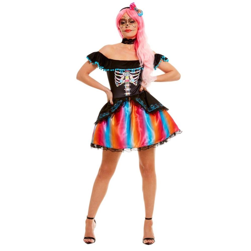 Disfraz Esqueleto Catrina Adulto