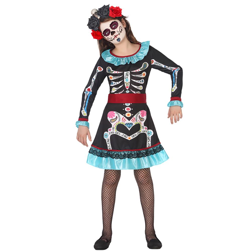 Disfraz Esqueleto Catrina Infantil