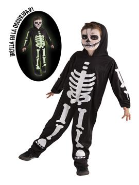 Disfraz Esqueleto Fosforescente Infantil