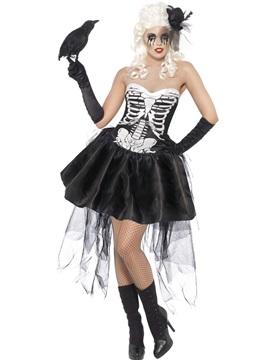 Disfraz Esqueleto Gótico Mujer