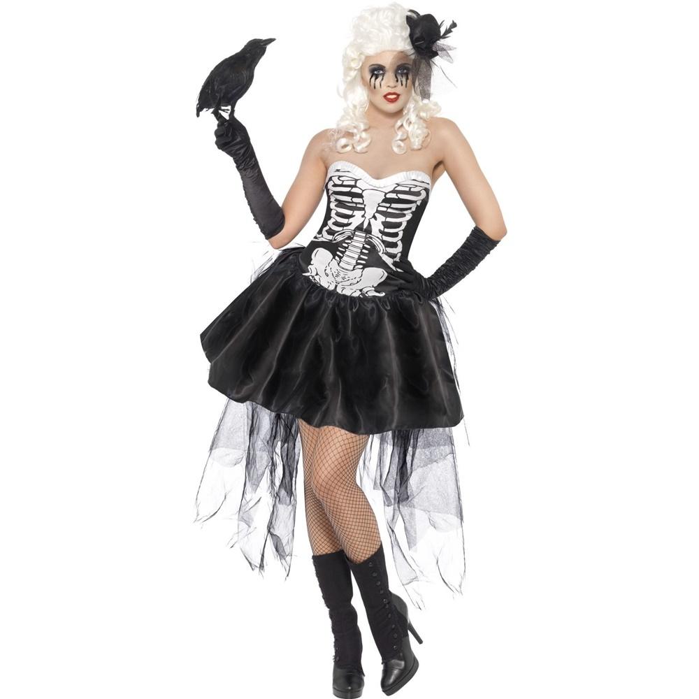 d9f9211df125 Disfraz Esqueleto Gótico Mujer - Comprar Online  Miles de Fiestas