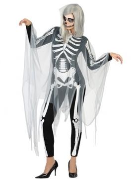 Disfraz Esqueleto Siniestro Mujer