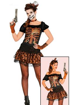 Disfraz Esqueleto Steampunk Adulta