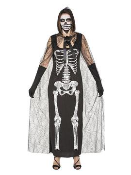 Disfraz Esqueleto Telarañas Adulto