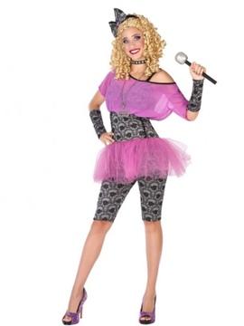 Disfraz Estrella del Pop Mujer