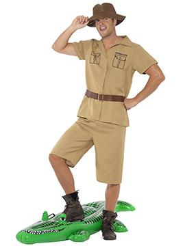 Disfraz Hombre Explorador Safari Adulto