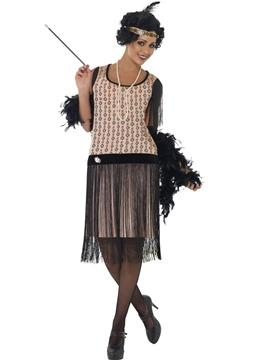 Disfraz Flapper Coco Mujer