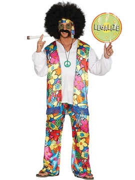 Disfraz Hippie Adulto