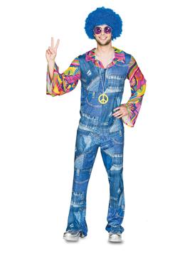 Disfraz Hombre Hippie Vaquero Adulto