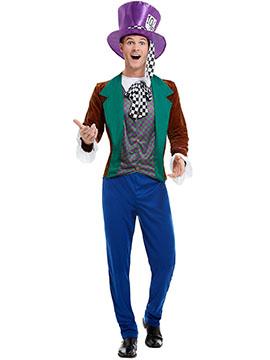 Disfraz Hombre Sombrerero Loco Adulto