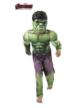 Disfraz Hulk Vengadores Deluxe Infantil