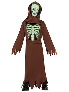 Disfraz Túnica Esqueleto Infantil
