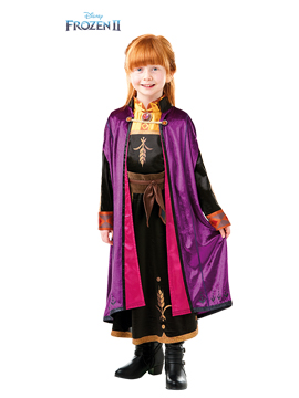 Disfraz Anna Frozen Travel Deluxe Infantil