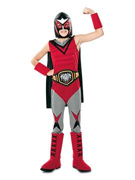 Disfraz Campeón de Lucha Libre Infantil