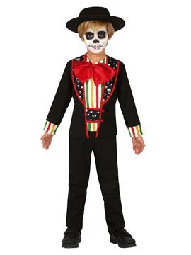 Disfraz Catrín Día de los Muertos Infantil