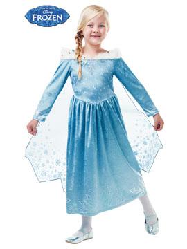 Disfraz Elsa Frozen Adventure Deluxe Infantil