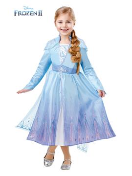 Disfraz Elsa Frozen Travel Deluxe Infantil