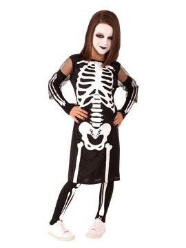 Disfraz Esqueleto Niña Infantil