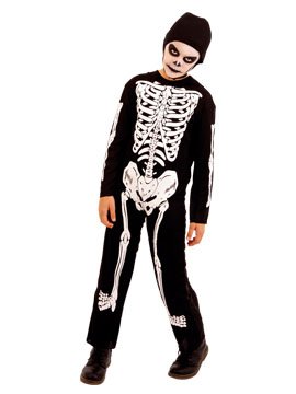 Disfraz Esqueleto Niño Infantil