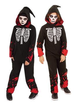 Disfraz Esqueleto Ensangrentado Infantil