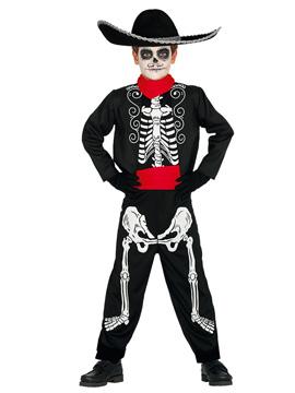 Disfraz Esqueleto Mariachi Infantil