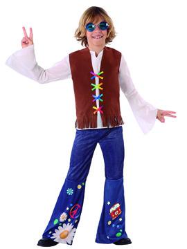 Disfraz Niño Hippie Peace Infantil