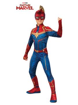 Disfraz Capitana Marvel Classic Infantil