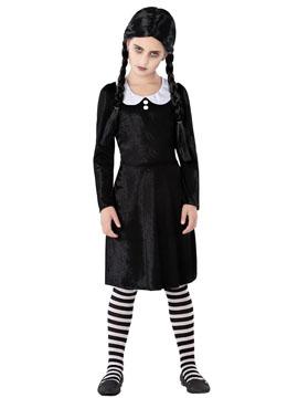 Disfraz Miércoles Niña Infantil